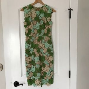 Anthropologie HD in Paris Lace Garden dress size 0
